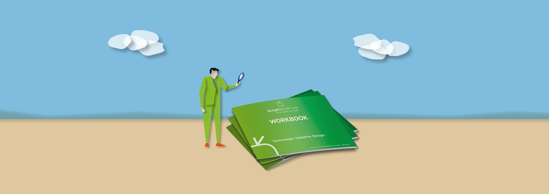 Workbook Slider Illustration